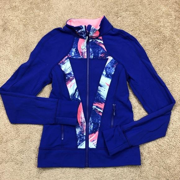 5598ab75e5fc4d lululemon athletica Shirts & Tops   Lululemon Ivivva Girls Zip Up ...
